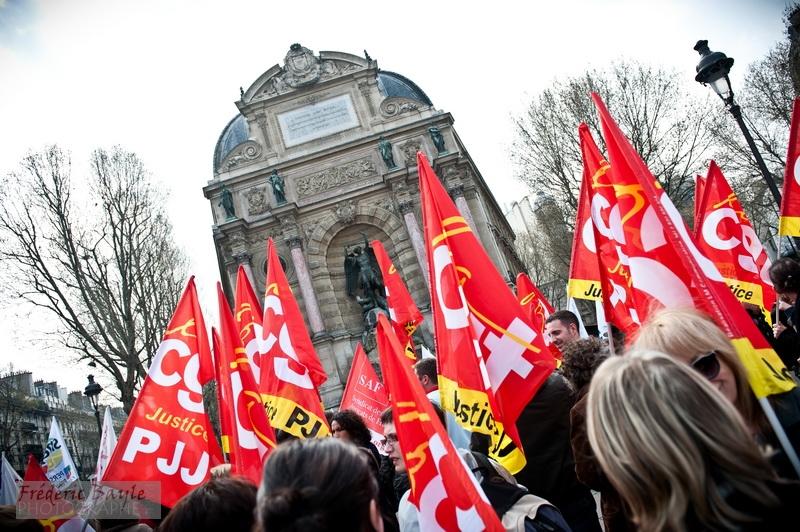 reportage photos manifestation justice paris 02