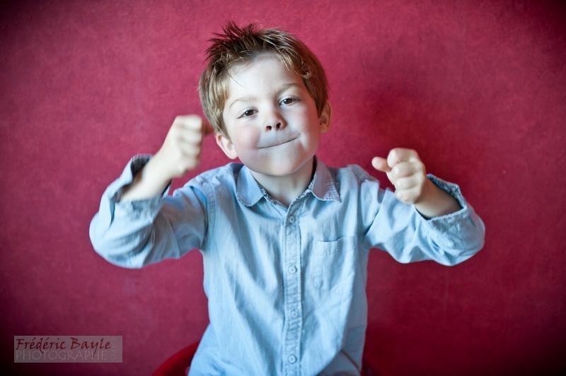 portraits d'enfants : photos studio 01