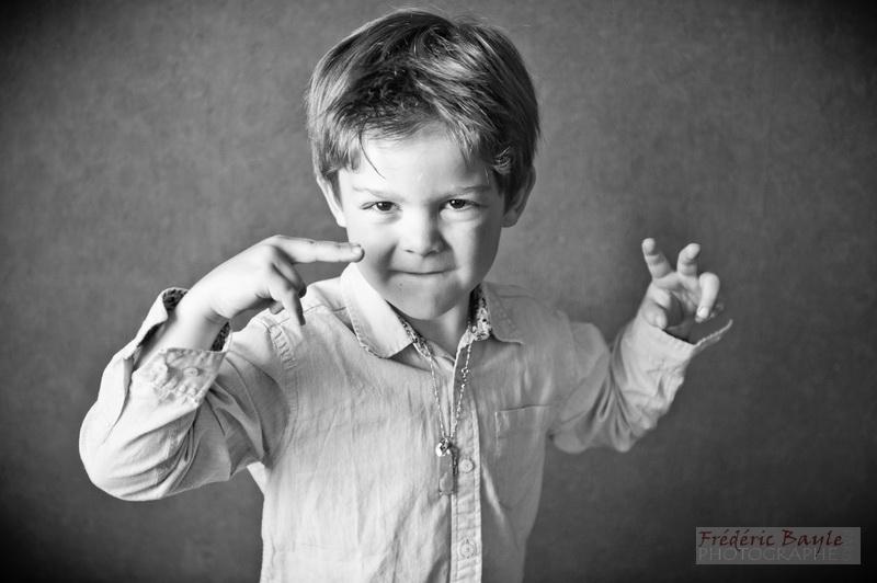 portraits d'enfants : photos studio 02
