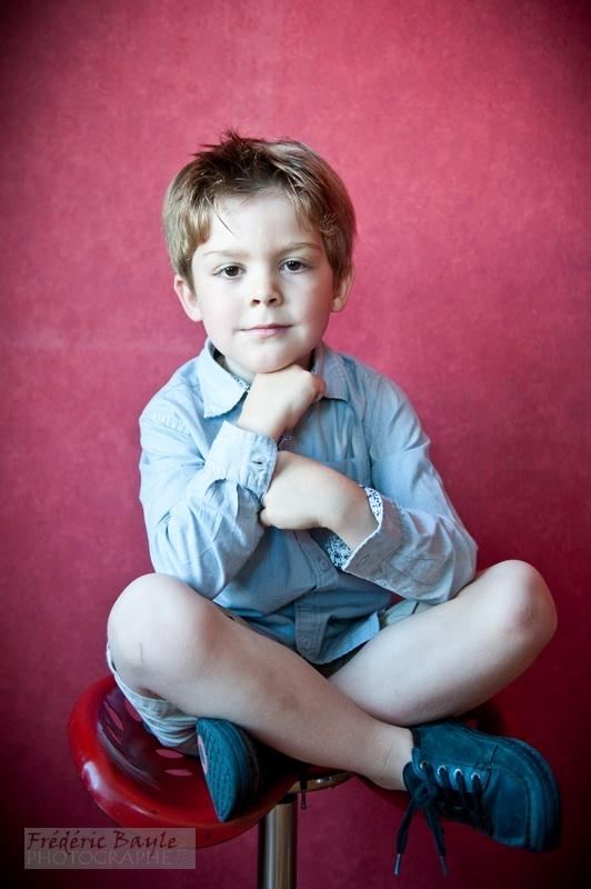 portraits d'enfants : photos studio 04