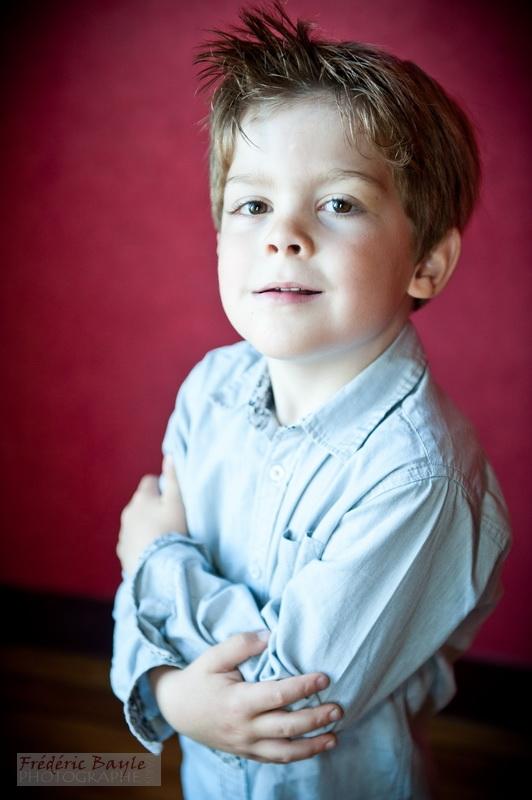 portraits d'enfants : photos studio 06