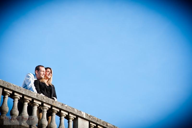 photos mariage et engagement mariage - Golf de Rochefort 06