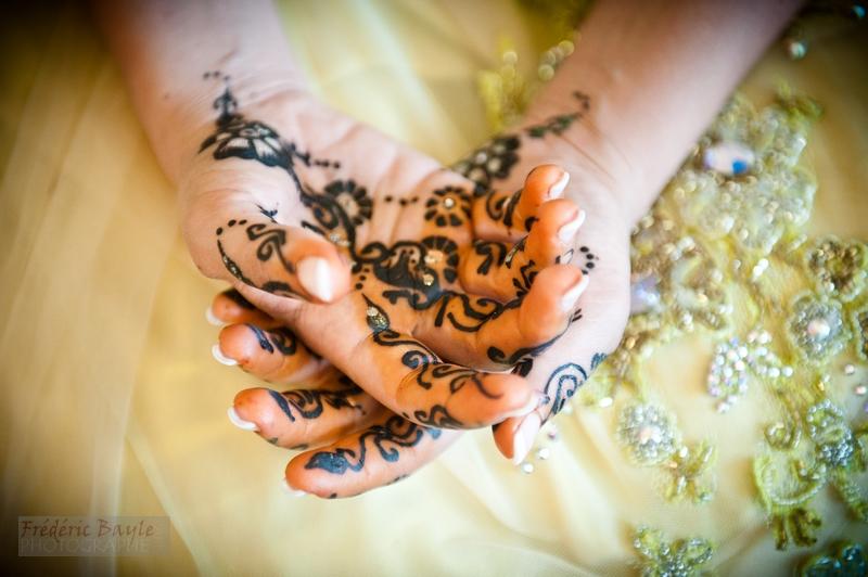photographe reportage & cérémonie du henné pour mariage oriental 01