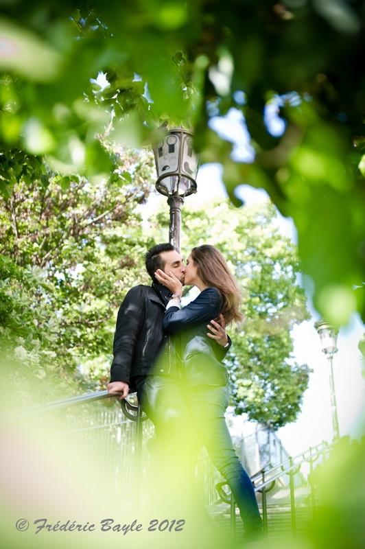 Engagement mariage Love session Paris 05