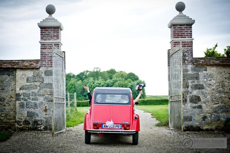 mariage mairie église voiture cortège 03