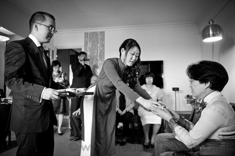 Reportage de mariage asiatique Paris 06