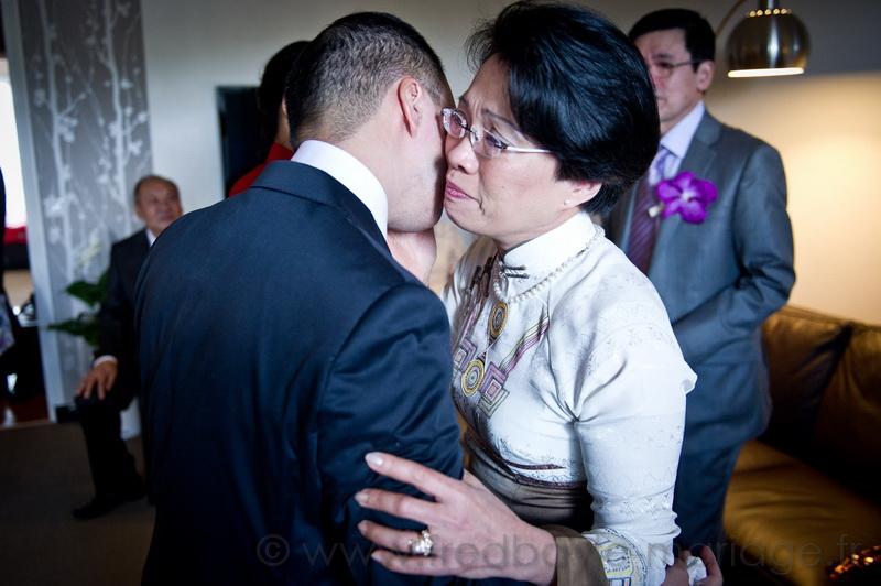 Reportage de mariage asiatique Paris 07