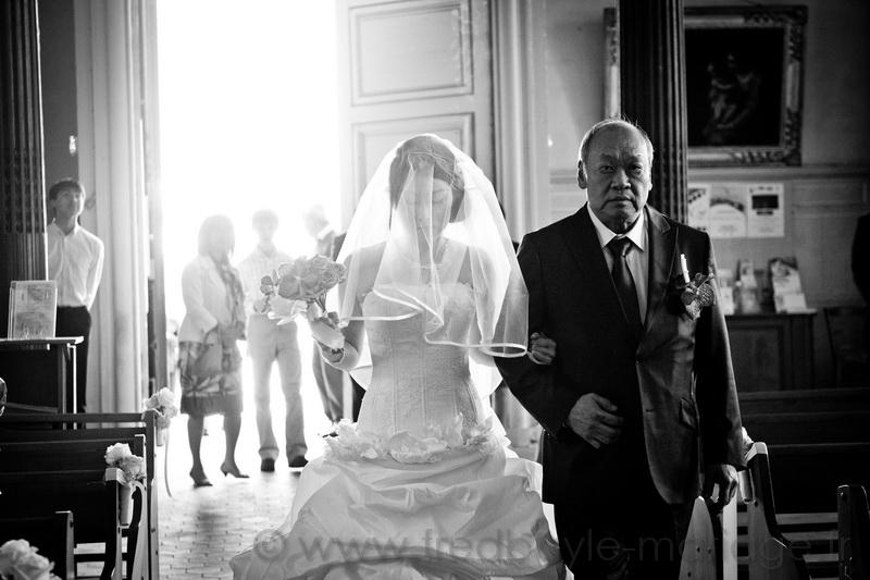 Reportage de mariage asiatique Paris 08