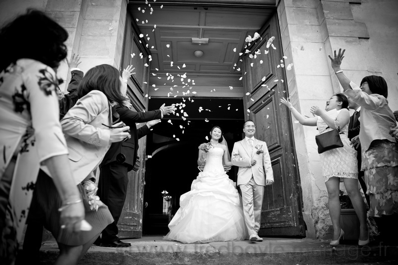 Reportage de mariage asiatique Paris 10