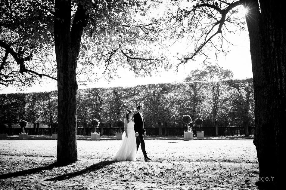 Mariage parc de sceaux