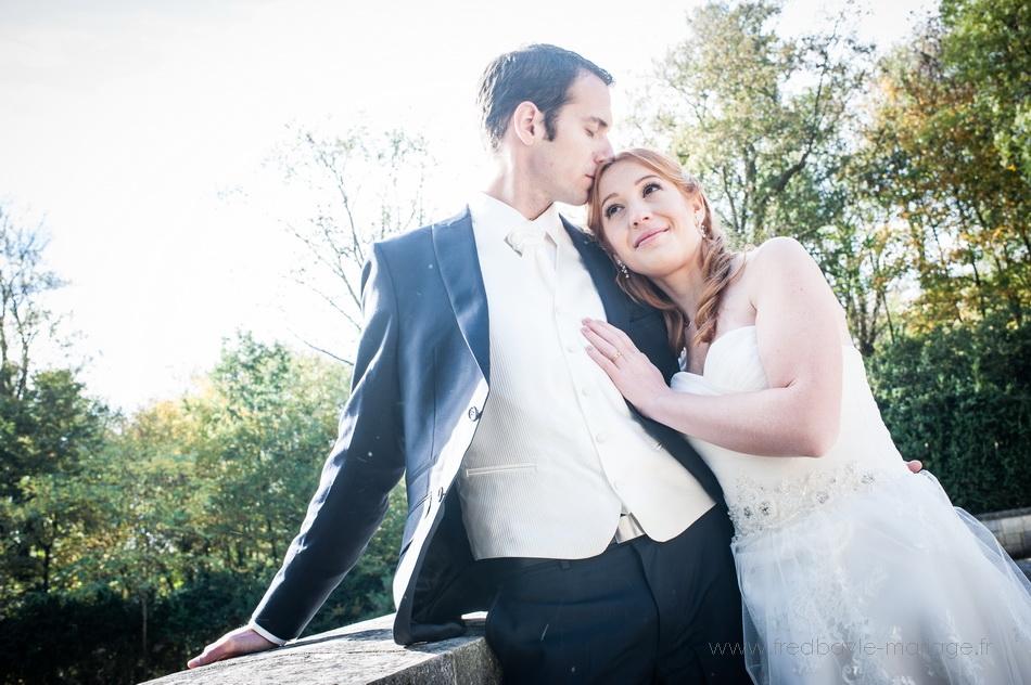 engagement au mariage dans le parc de sceaux