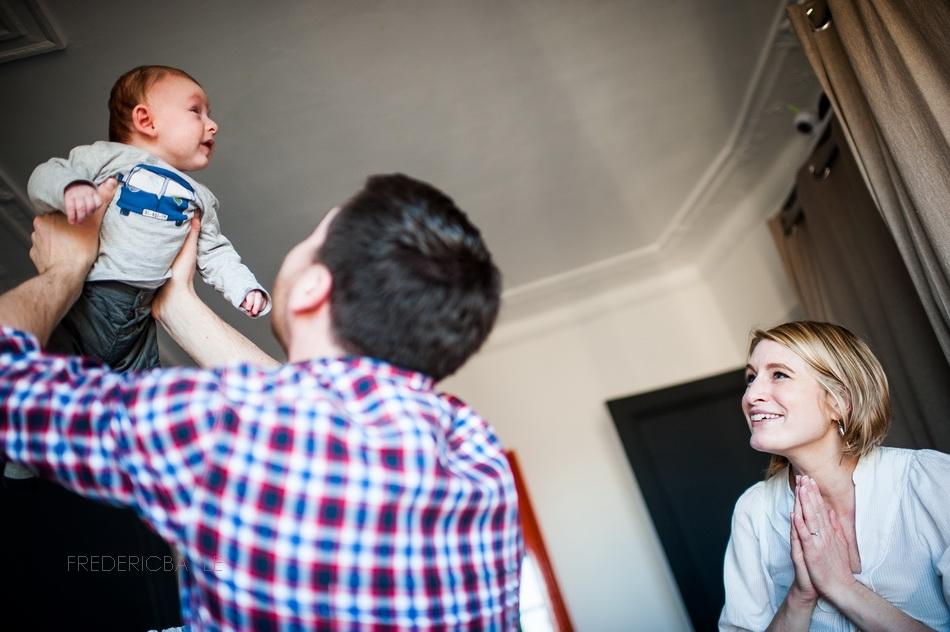 séance photos bébé à Paris
