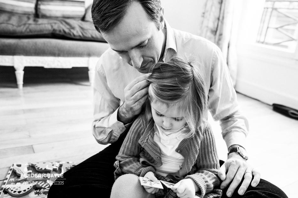 photographier une famille dans sa vie quotidienne