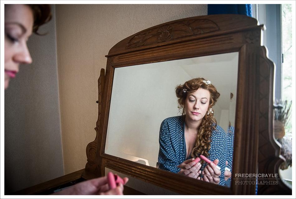 reportage de mariage à l'Orangerie : préparation