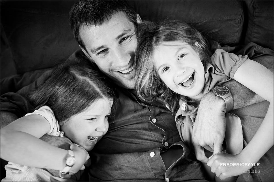 séance de photos en famille
