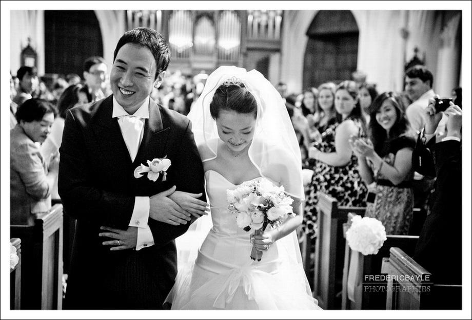 photo de mariage en couleur ou noir et blanc