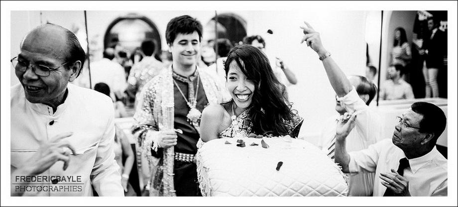 mariage traditionnel franco-cambogien à l'Hôtel Le Marois à Paris