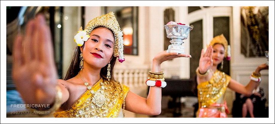 Danseuses traditionnelles aux Salons France-Amériques