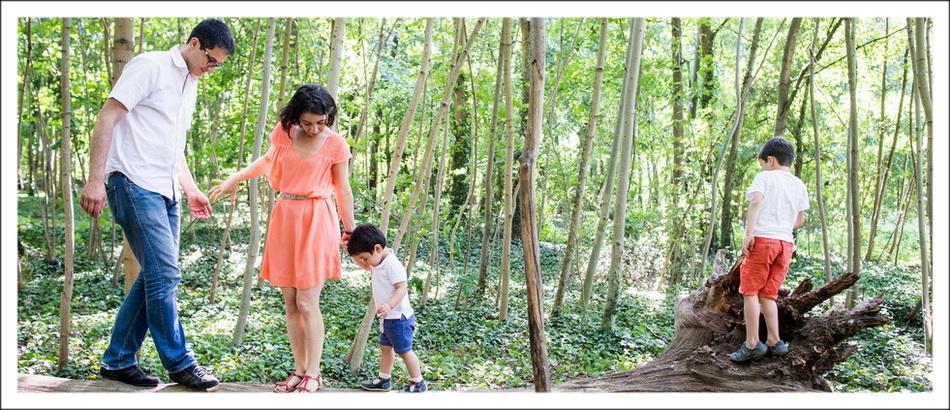séance photos de famille dans le bois de vincennes, pr_s de paris